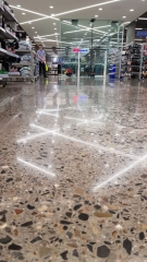 patterned finish on concrete floors in kmart