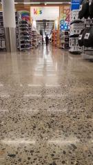 concrete floor in Kmart