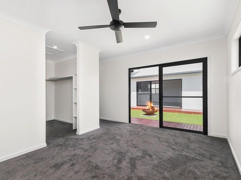 Bedroom in displayhome