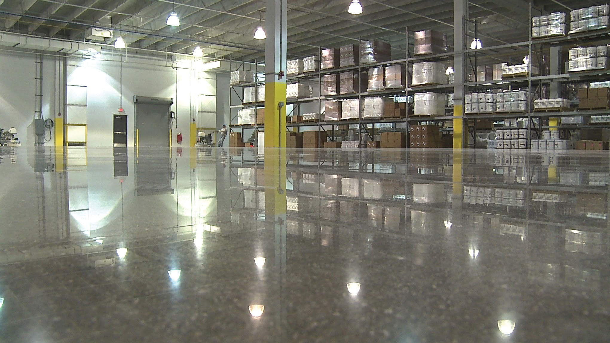 Dustproof Factory Floor Warehouse Pyrafloor
