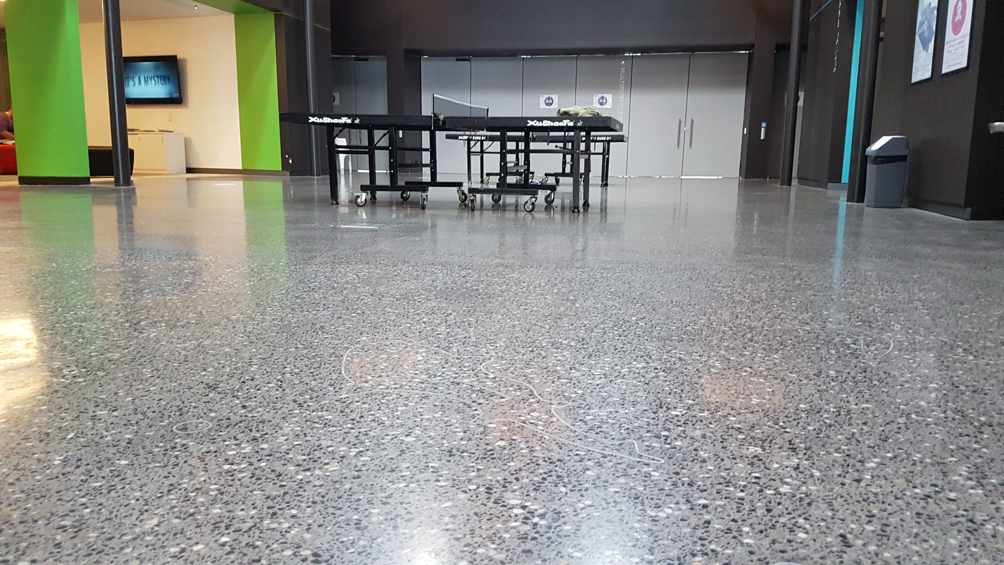 polished concrete in PCYC